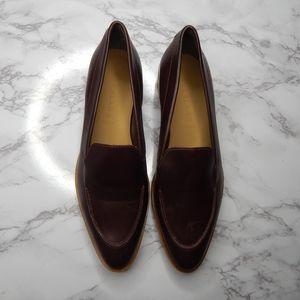 Everlane Womens The Modern Loafer Burgundy Sz 9